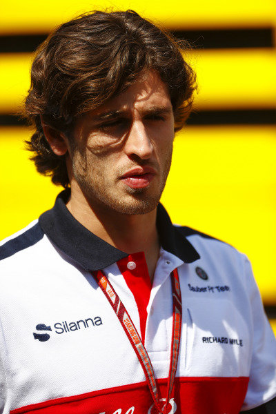 Antonio Giovinazzi, Sauber.