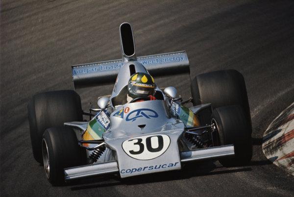 Wilson Fittipaldi, Fittipaldi FD01 Ford.