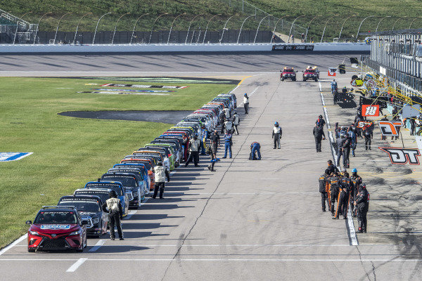 Toyota Camry TRD Pace Car leads the field
