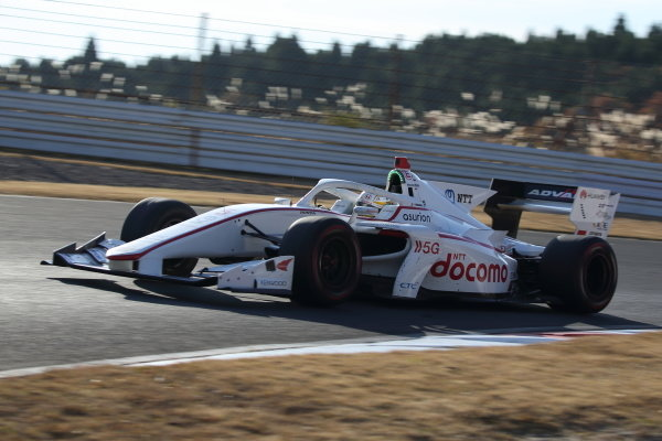 Naoki Yamamoto ( #5 DOCOMO TEAM DANDELION RACING, Dallara SF19 Honda), 2nd position. Photo: Yukio Yoshimi