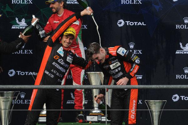 #26 G-Drive Racing Oreca 07: Roman Rusinov, Jean-Eric Vergne, Job Van Uitert