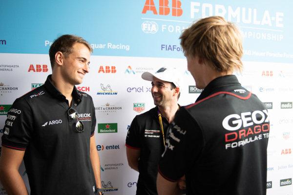 Nico Müller (CHE), GEOX Dragon Neel Jani (CHE), Tag Heuer Porsche and Brendon Hartley (NZL), GEOX Dragon
