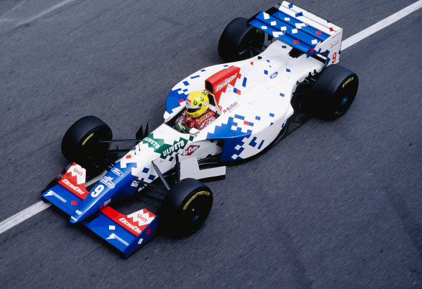 1994 Monaco Grand Prix.Monte Carlo, Monaco. 12-15 May 1994.Christian Fittipaldi (Footwork FA15 Ford).Ref-94 MON 75.World Copyright - LAT Photographic