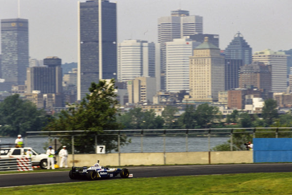 Damon Hill, Williams FW18 Renault.