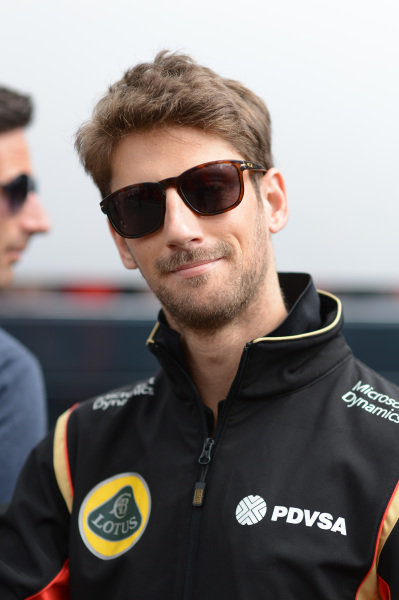 Romain Grosjean (FRA) Lotus F1 at Formula One World Championship, Rd8, Austrian Grand Prix, Race, Spielberg, Austria, Sunday 21 June 2015.