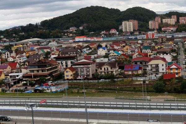 Sochi Autodrom, Sochi, Russia. Friday 09 October 2015. Nico Rosberg, Mercedes F1 W06 Hybrid. World Copyright: Alastair Staley/LAT Photographic. ref: Digital Image _79P9290