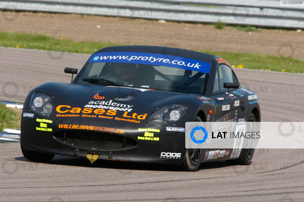 2013 Ginetta GT5 Challenge Rockingham, 5th and 6th May, 2013 Will Burns World Copyright. Ebrey/LAT Photographic