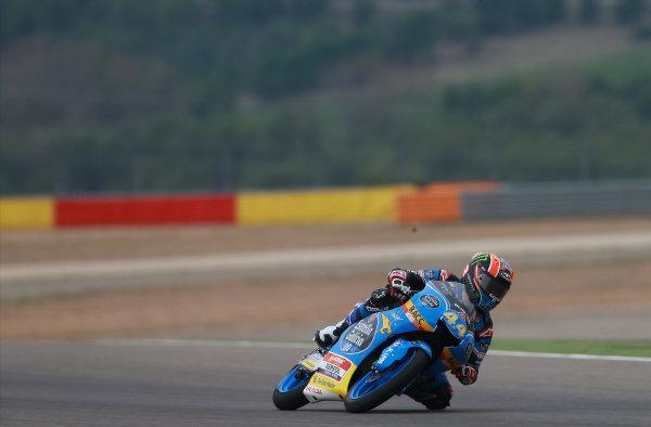 2017 Moto3 Championship - Round 14 Aragon, Spain. Friday 22 September 2017 Aron Canet, Estrella Galicia 0,0 World Copyright: Gold and Goose / LAT Images ref: Digital Image 693530
