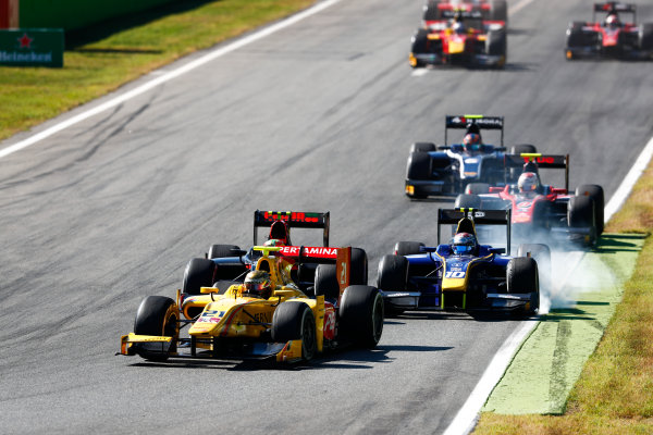 Autodromo Nazionale di Monza, Italy. Sunday 3 September 2017 Sean Gelael (INA, Pertamina Arden).  Photo: Bloxham/FIA Formula 2 ref: Digital Image _W6I4758