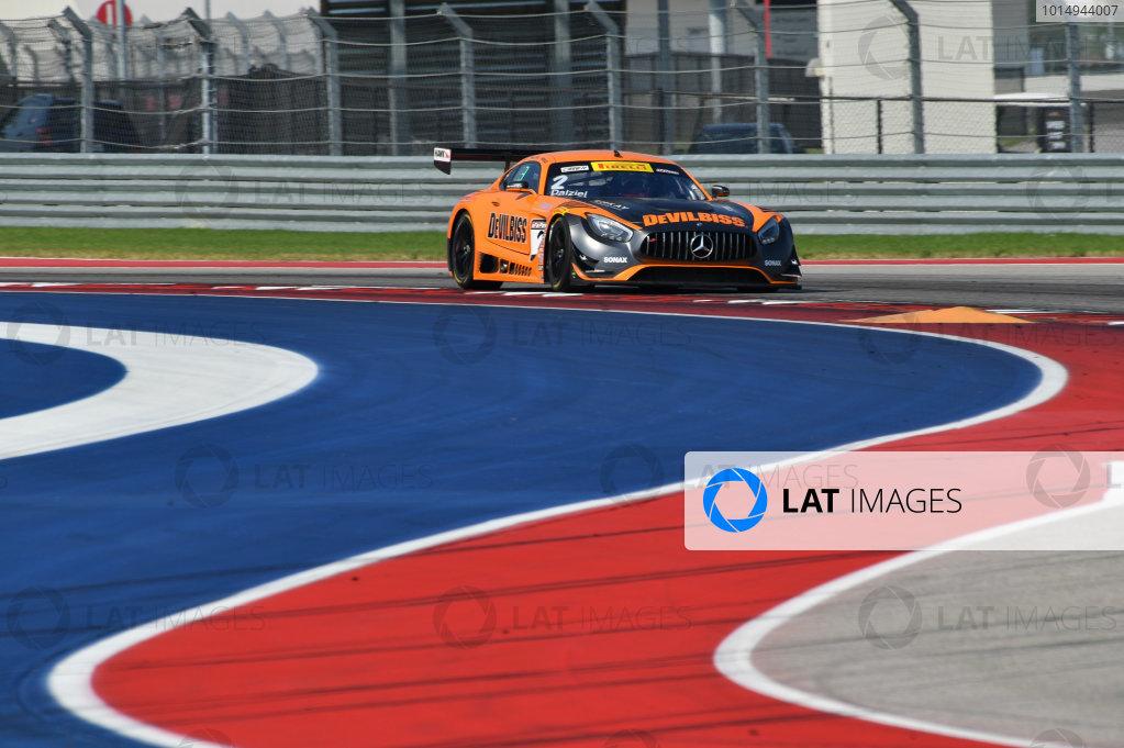 Pirelli World Challenge Grand Prix of Texas Circuit of The Americas, Austin, TX USA Friday 1 September 2017 Ryan Dalziel/Daniel Morad World Copyright: Richard Dole/LAT Images ref: Digital Image RD_COTA_PWC_17025