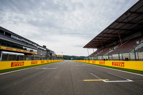 2017 FIA Formula 2 Round 8. Spa-Francorchamps, Spa, Belgium. Thursday 24 August 2017. A view of the track. Photo: Zak Mauger/FIA Formula 2. ref: Digital Image _54I9506