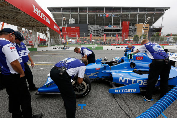 Verizon IndyCar Series Honda Indy Toronto Toronto, ON CAN Friday 14 July 2017 Tony Kanaan, Chip Ganassi Racing Teams Honda World Copyright: Phillip Abbott LAT Images ref: Digital Image abbott_toronto_0717_0067