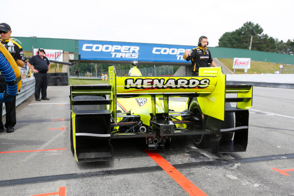 Verizon IndyCar Series Honda Indy 200 at Mid-Ohio Mid-Ohio Sports Car Course, Lexington, OH USA Friday 28 July 2017 Simon Pagenaud,  Team Penske Chevrolet World Copyright: Phillip Abbott LAT Images ref: Digital Image abbott_midohio_0717_0106