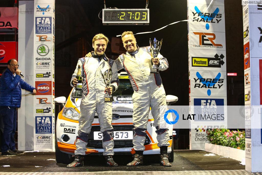 2017 Prestone MSA British Rally Championship,  Ypres Rally, Ypres, Belgium. 22nd - 24th June 2017. David White / Matthew White Ford Fiesta R2. World Copyright: JEP/LAT Images.