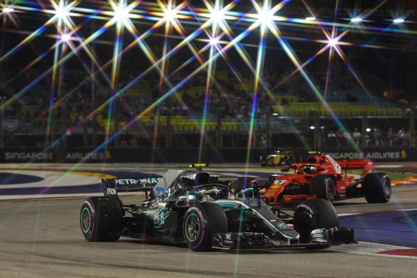 Valtteri Bottas, Mercedes-AMG F1 W09 EQ Power +