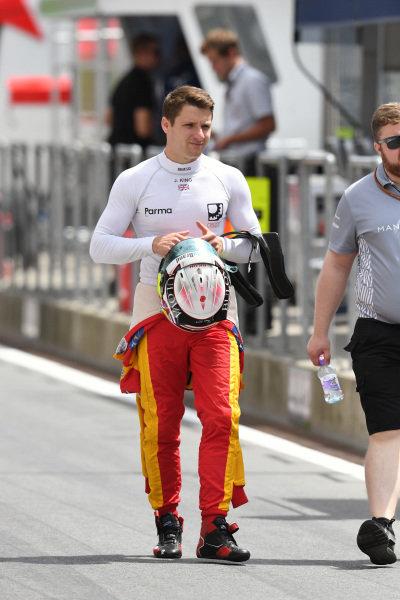 Jordan King (GBR) Racing Engineering at GP2 Series, Rd4, Spielberg, Austria, 1-3 July 2016.
