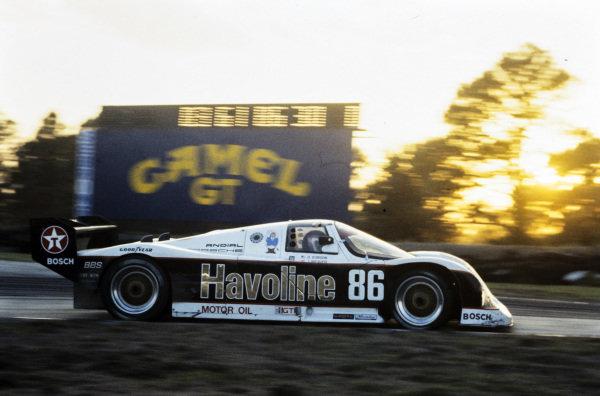 Klaus Ludwig / James Weaver / Dominic Dobson, Bayside-Leven Racing, Porsche 962.