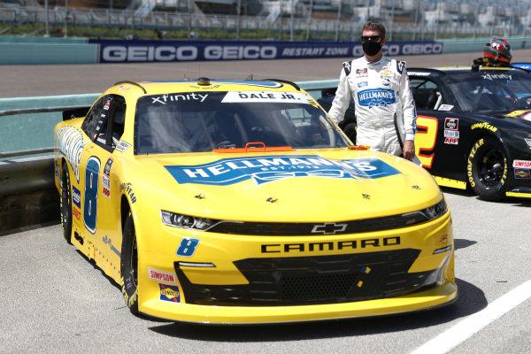 Dale Earnhardt Jr., JR Motorsports Chevrolet Hellmann's, Copyright: Chris Graythen/Getty Images.