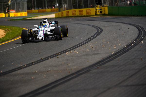 Felipe Massa (BRA) Williams FW40 at Formula One World Championship, Rd1, Australian Grand Prix, Practice, Albert Park, Melbourne, Australia, Friday 24 March 2017.