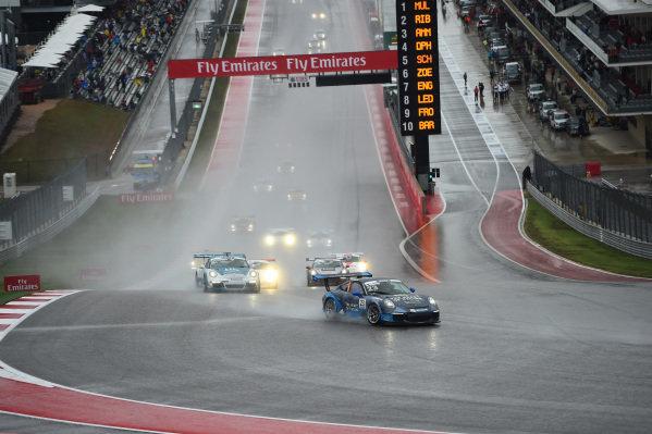 Alex Riberas (ESP) Heart of Racing by Lechner at Porsche Supercup, Rd8, Austin, Texas, USA, 23-25 October 2015.