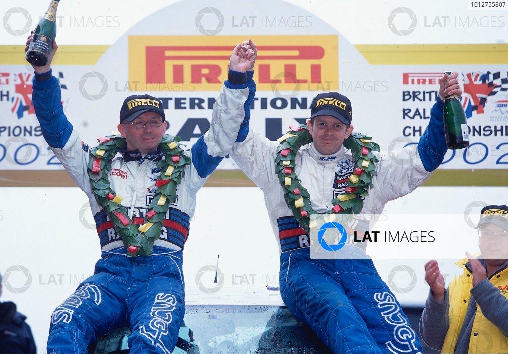 2002 British Rally Championship.