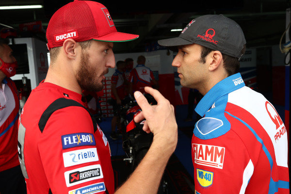 Jack Miller, Ducati Team Johann Zarco, Pramac Racing .