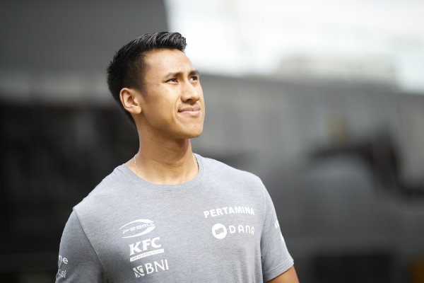 SPA-FRANCORCHAMPS, BELGIUM - AUGUST 29: Sean Gelael (IDN,PREMA RACING) during the Spa-Francorchamps at Spa-Francorchamps on August 29, 2019 in Spa-Francorchamps, Belgium. (Photo by Joe Portlock / LAT Images / FIA F2 Championship)