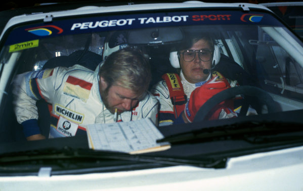 1000 Lakes Rally, Finland. 5th - 7th September 1986.