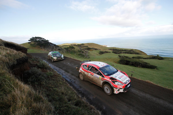 Round 7, Rally New Zealand, 21st-24th June 2012Mariej Oleksowicz, Ford,  Action.
