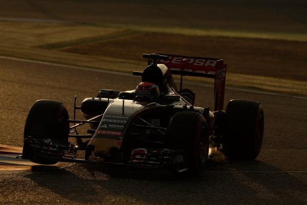 2015 F1 Pre Season Test 3 - Day 4 Circuit de Catalunya, Barcelona, Spain. Thursday  Sunday 1 March 2015. Max Verstappen, Toro Rosso STR10 Renault.  World Copyright: Sam Bloxham/LAT Photographic. ref: Digital Image _14P5474