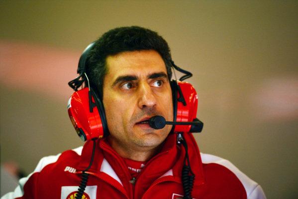 Andrea Stella (ITA) Ferrari Race Engineer. Formula One Testing, Day 2, Barcelona, Spain, Friday 1 March 2013.