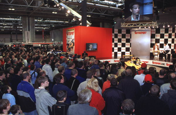 2001 Autosport International Show. NEC, Birmingham, England. 11th - 14th January 2001. World Copyright - Dixon / LAT Photographic ref: 01show26