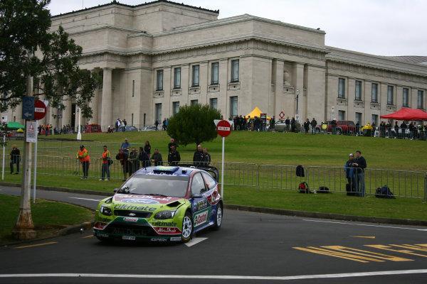 2010 FIA World Rally ChampionshipRound 05Rally New Zealand 7 - 9 May  2010Mikko Hirvonen, Ford, ActionWorldwide Copyright: McKlein/LAT