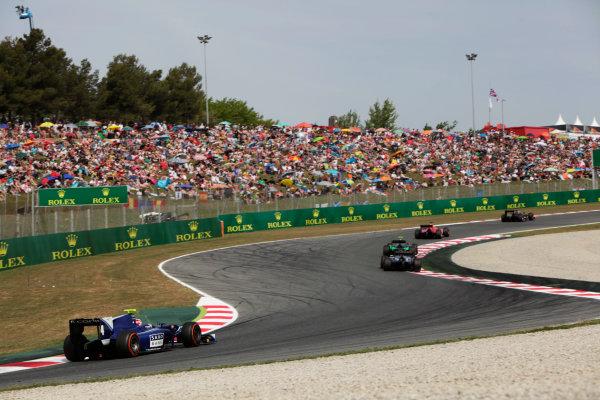 2015 GP2 Series Round 2. Circuit de Catalunya, Barcelona, Spain. Sunday 10 May 2015. Marco Sorensen (DEN, Carlin). Photo: Zak Mauger/GP2 Series Media Service. ref: Digital Image _MG_7387