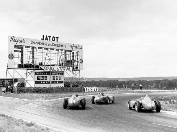 Reims, France. 1 July 1956.