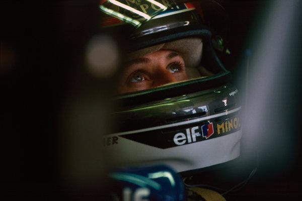 Montreal, Quebec, Canada. .9-11 June 1995. Michael Schumacher (Benetton B195 Renault) 5th position, portrait.  World Copyright: LAT Photographic. Ref:  95 CAN 28.