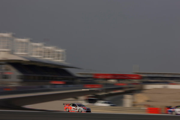 Garth Tander of the Holden Racing Team during the Gulf Air Desert 400, Round 12 of the Australian V8 Supercar Championship Series at the Bahrain International Circuit, Manama, , November 06, 2008.