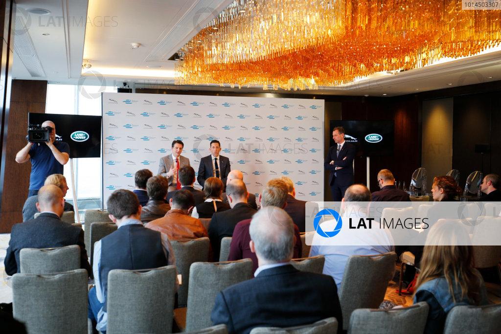 Jaguar Formula E Announcement