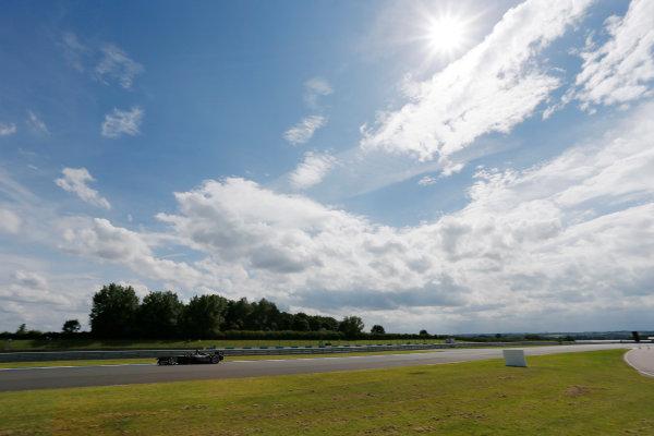 FIA Formula E Test Day, Donington Park, UK.  3rd - 4th July 2014.  Michela Cerruti, Trulli GP. Photo: Zak Mauger/FIA Formula E ref: Digital Image _L0U5184