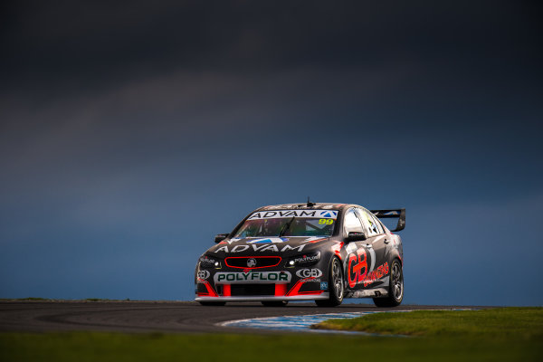 2017 Supercars Championship Round 3.  Phillip Island 500, Phillip Island, Victoria, Australia. Friday 21st April to Sunday 23rd April 2017. Dale Wood drives the #99 Erebus GB Galvanising Racing Holden Commodore VF. World Copyright: Daniel Kalisz/LAT Images Ref: Digital Image 210417_VASCR3_DKIMG_1719.JPG