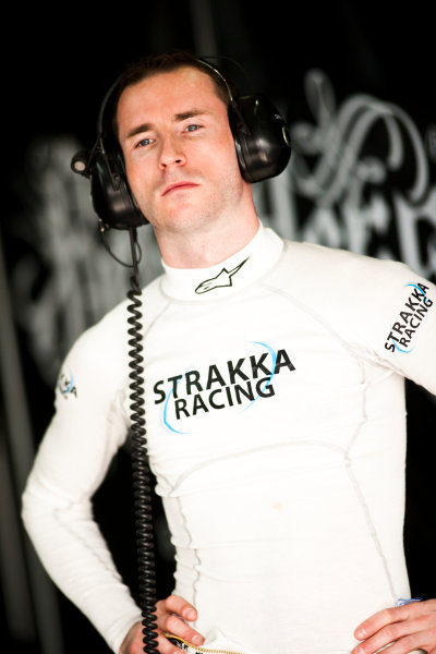 Paul Ricard, France. 9th - 11th April 2010. Danny Watts (Strakka Racing, HPD ARX-01C). Portrait. World Copyright: Drew Gibson/LAT Photographic. Digital Image _Y2Z7839