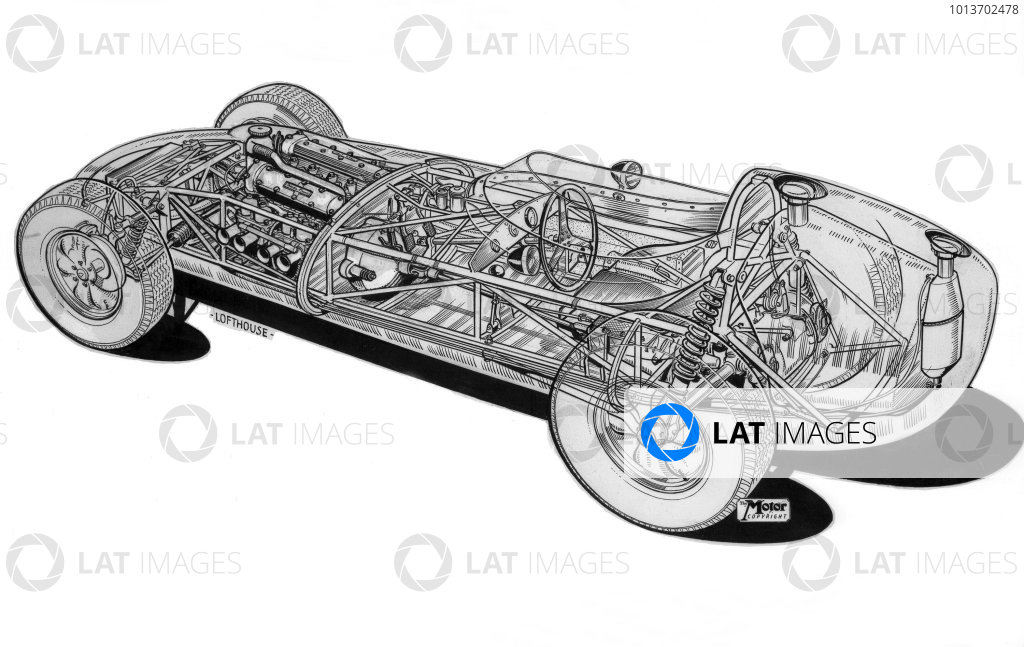 1958 Lotus 16-Climax.