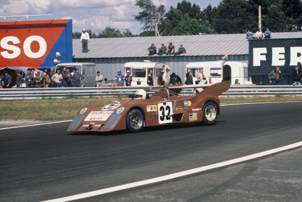 Le Mans, France. 11th - 12th June 1977 Andre Chevalley/Franois Trisconi/Wink Bancroft (Cheetah G501 Ford), retired, action. World Copyright: LAT PhotographicRef: 77LM30.