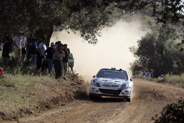 2007 FIA World Rally ChampionshipRound 8Acropolis Rally of Greece31/5-3/6  2007Manfred Stohl, action, CitroenWorldwide Copyright: McKlein/LAT