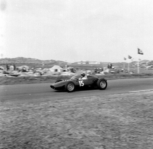 1960 Dutch Grand Prix.Zandvoort, Holland.4-6 June 1960.Dan Gurney (BRM P48).Ref-6586.World Copyright - LAT Photographic
