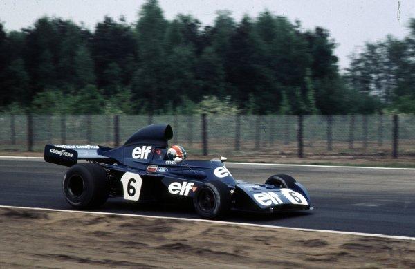 1973 Belgian Grand Prix.Zolder, Belgium.18-20 May 1973.Francois Cevert (Tyrrell 006 Ford) 2nd position.Ref-73 BEL 27.World Copyright - LAT Photographic