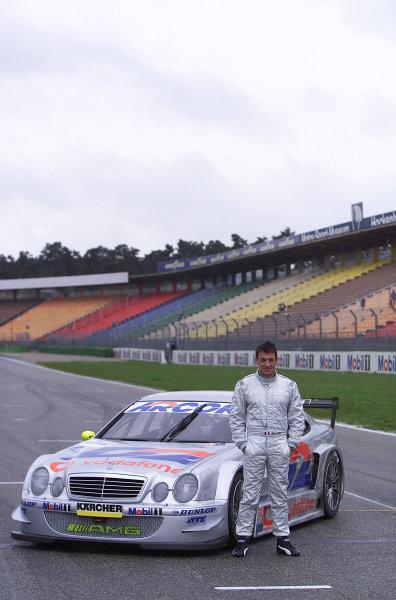 2001 DTM TestingHockenheim, Germany. 7th November 2001.Jean Alesi testing the AMG Mercedes CLK-DTM at Hockenheim.World Copyright: Wolfgang Wilhelm/LAT Photographicref: Digital Image Only