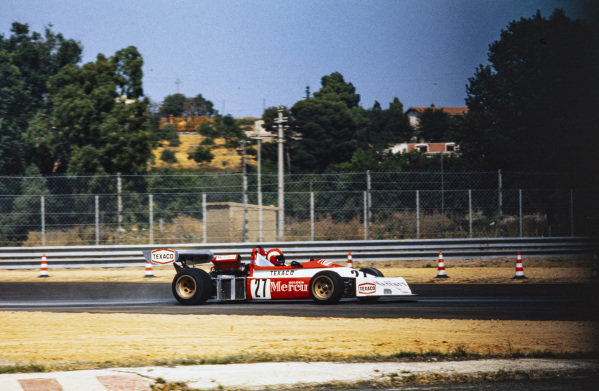 Maurizio Flammini, March 742 BMW.