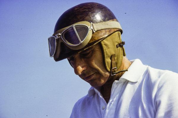 Racing legend Juan Manuel Fangio.
