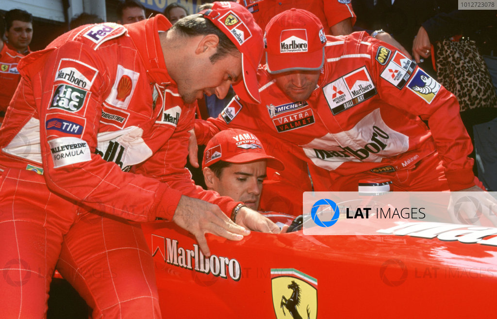 2000 Marlboro Masters F3.